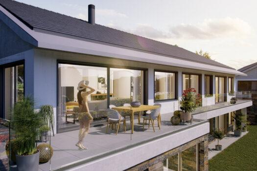 Photo Villa Dully Clos des Vignes balcon terrasse